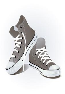 Shoes, vector illustration